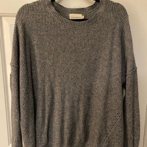 """""""Dreamers"""" Gray Sweater"""